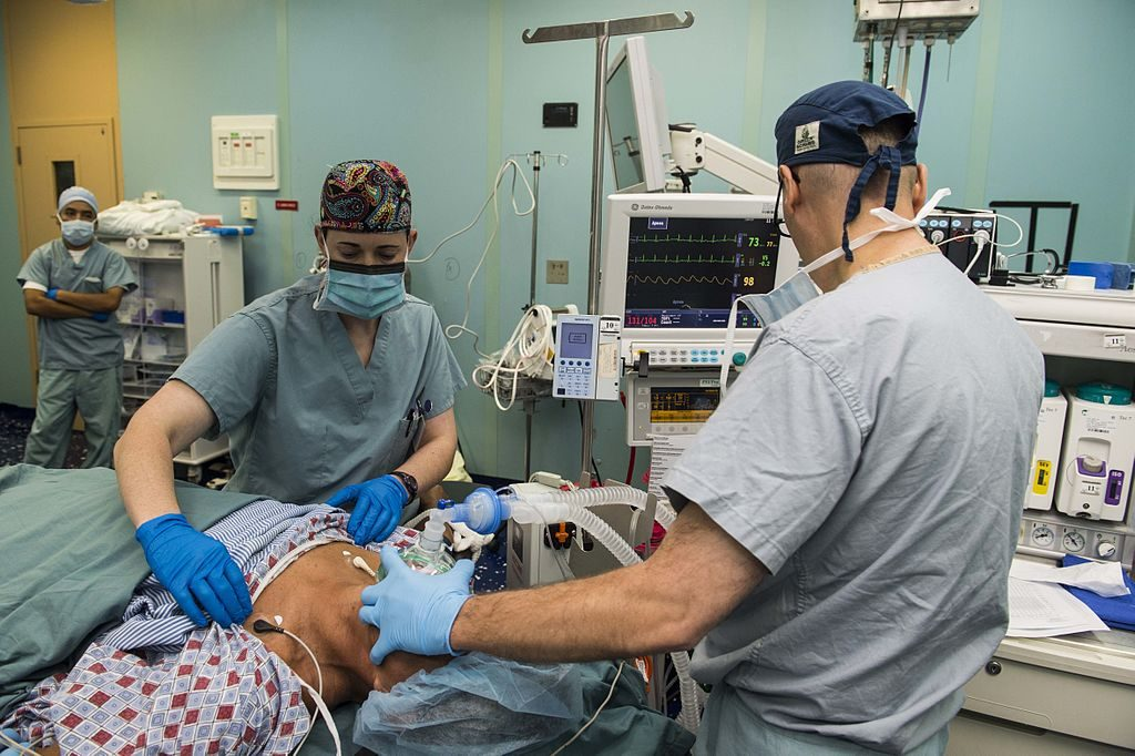 The Nurse Anesthetist is in hot demand these days