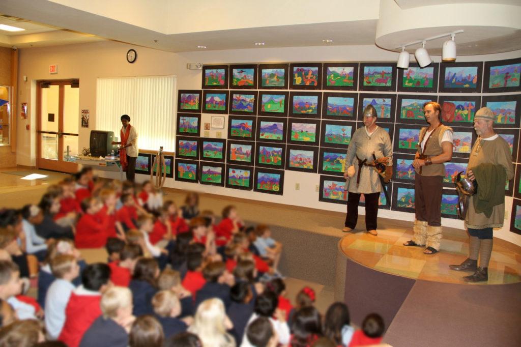 Teaching_elementary_school_children